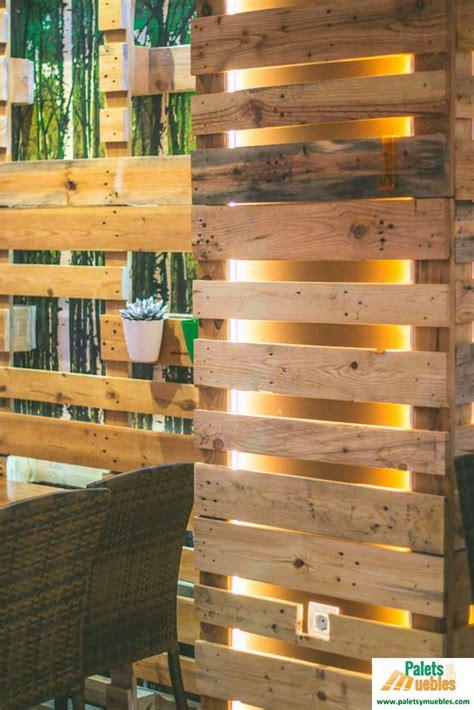 decoracion paredes madera decoracion pared con palets palets y muebles