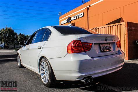 bmw e90 328i performance exhaust e90 bmw 328i bmw performance exhaust install photos