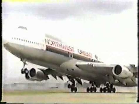 northwest orient airlines commercial