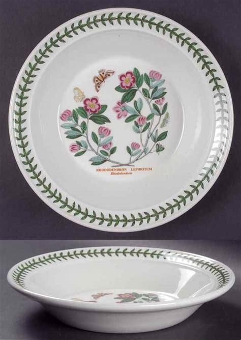 Ebay Portmeirion Botanic Garden Portmeirion Botanic Garden Rhododendron Rimmed Soup Bowl S5640851g2 Ebay