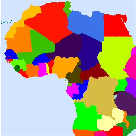 africa map clipart world map with countries clipart 43