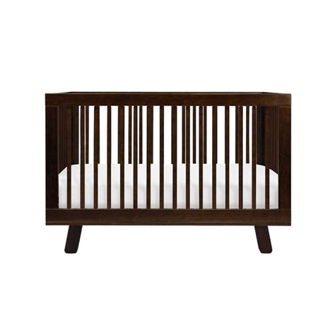 Babyletto Hudson Convertible Crib Babyletto Hudson 3 In 1 Convertible Crib With Toddler Rail In Espresso M4201q