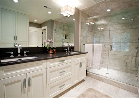 bathroom granite ideas 27 ideas and pictures of wood or tile baseboard in bathroom