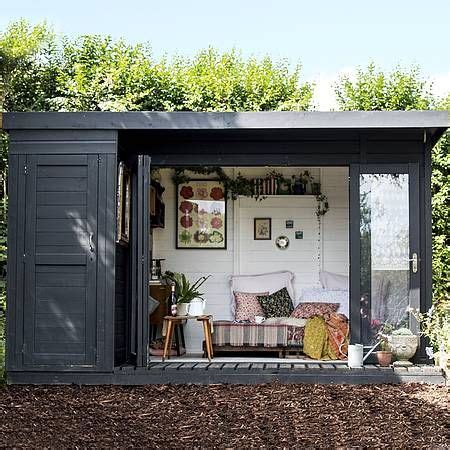 waltons contemporary summerhouse  side shed