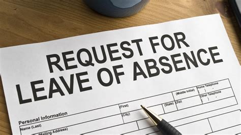 search results for leave absence letter employer