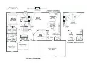 3 bedroom ranch floor plans whalen custom homes kilkenny 3 bedroom ranch st louis