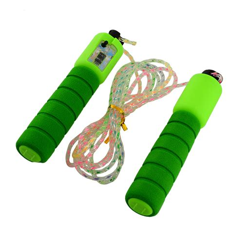 oem skipping jump rope with counter number fitness