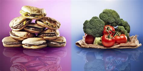 vegetables vs junk food healthy produce cost three times as much as junk food is