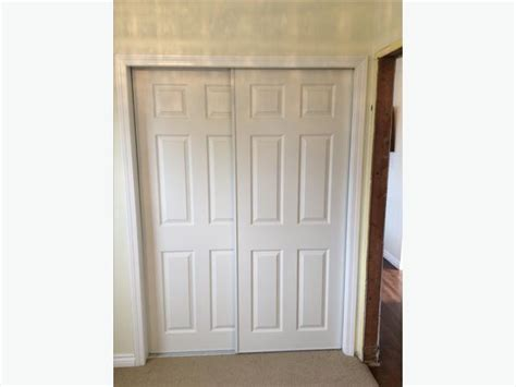 Used Closet Doors Six Panel Sliding Closet Doors Esquimalt View Royal