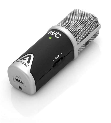 Garageband Not Recording External Mic Mic Studio Quality Usb Condenser Microphone Apogee