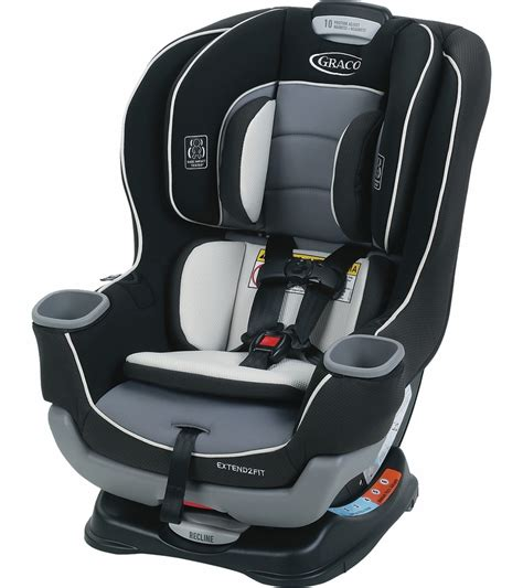 illinois car seat graco extend2fit convertible car seat gotham