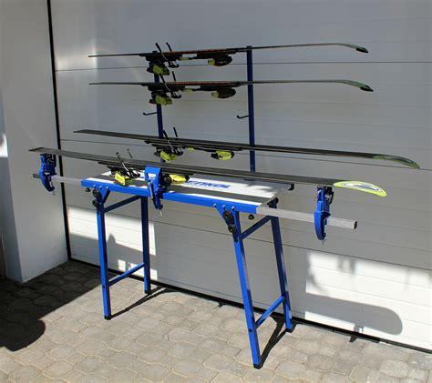 nordic ski waxing bench holmenkol waxing table alpin nordic