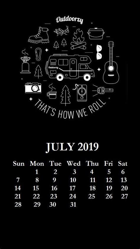 iphone july  calendar wallpaper backgrounds