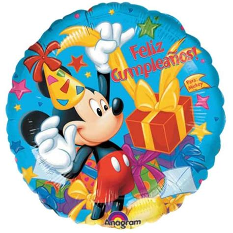 Balon Foil Mickey Balon Kepala Mickey feliz cumpleanos mickey mouse balloon partyrama co uk