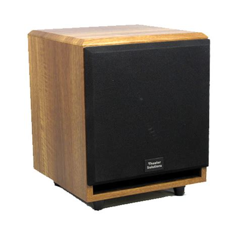 Kit Modul Subwoofer Home Theater Sound Indoor theater solutions sub6fm mahogany 200w surround home theater powered subwoofer ebay