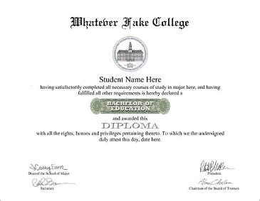 Bachelor Degree Template by College Degrees Ba Bba Bed Bn Bs Aa As