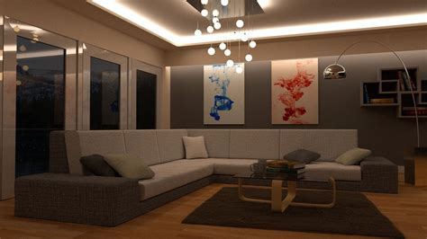 room lounge 3d model lounge room day and blender models vr ar low poly blend cgtrader