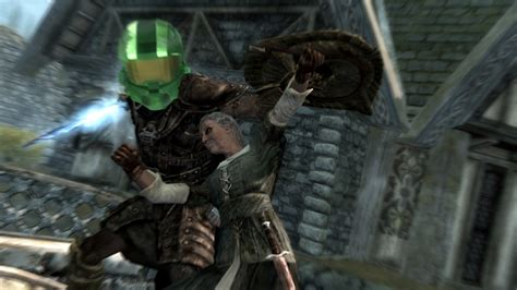 halo armor mod skyrim halo 4 spartan mjolnir helmet at skyrim nexus mods and
