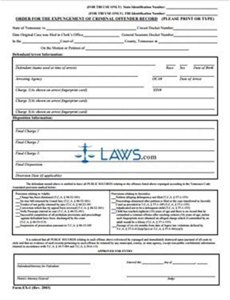 Expungement in louisiana forms for marriage