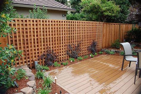 Design For Lattice Fence Ideas Lattice Fence Pictures And Ideas