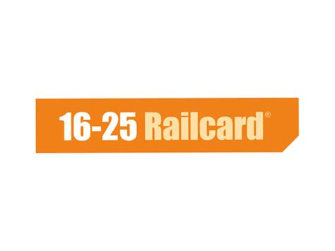 Railcard Gift Card - 16 25 railcard promotional code 12 off 6 more
