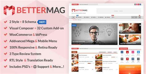 themeforest free download newsmag v3 2 news magazine download bettermag news blog magazine wordpress theme free