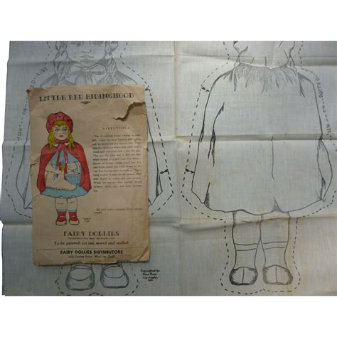 hood pattern generator little red riding hood cloth doll pattern from