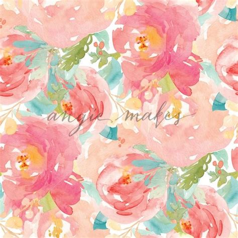 watercolor flower pattern wallpaper colorful watercolor flower wallpaper pattern repeating