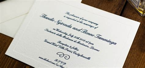 letterpress wedding invitations affordable uk the most of your budget bossa luxury wedding
