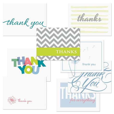 Thank You Letter For Values Thank You Note Card Value Pack Current Catalog