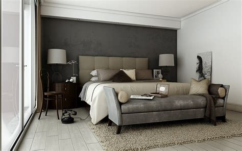 Decorating With Gray And Brown by Grey Brown Taupe Sophisticated Bedroom Interior Design