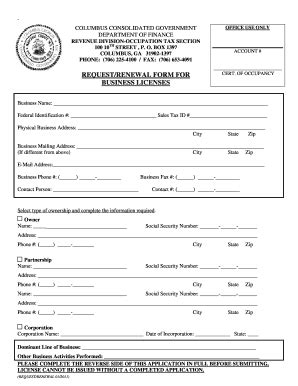 templates for business license ga separation notice laws forms and templates fillable