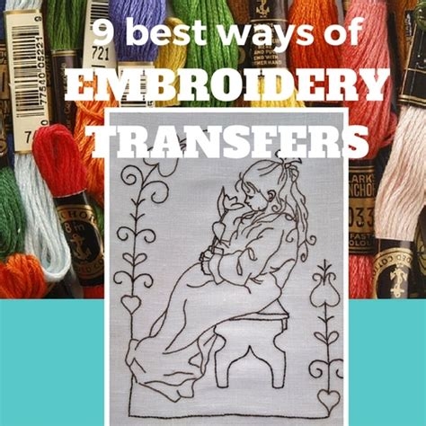 embroidery design transfer techniques 9 best ways for embroidery transfers sew guide