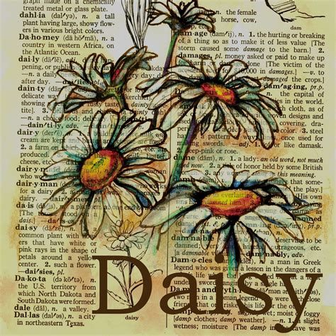 Flying Shoes Art Studio Daisy Painting Pages