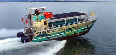 catamaran boat tour honolulu armstrong marine delivers catamaran tour boat to hawaii
