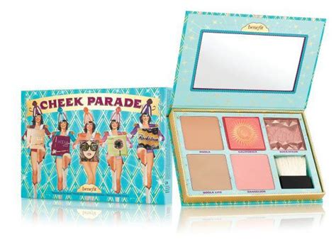 Benefit Cosmetics Giveaway 2017 - benefit cheek parade blusher and bronzer palette spring 2017 beauty trends and