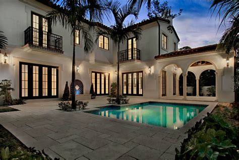 home design center coral gables 5 000 s f residence in coral gables fl mediterranean pool