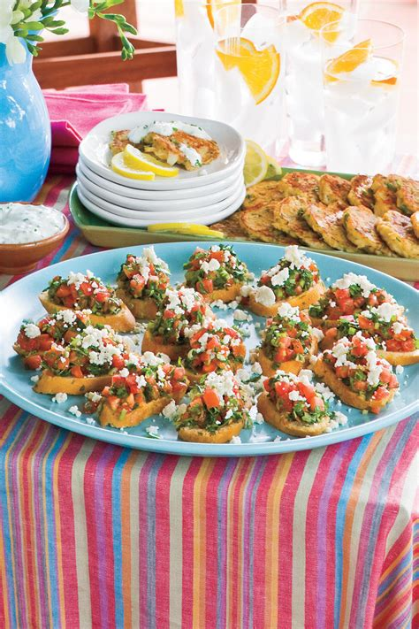 light snacks for party healthy appetizer recipes and party snacks southern living