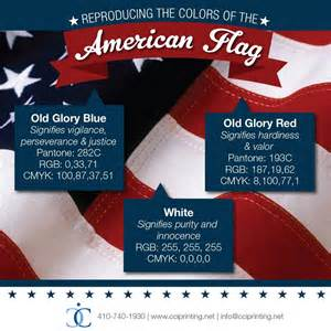 what do the colors of the american flag reproducing the colors of the american flag cci printing