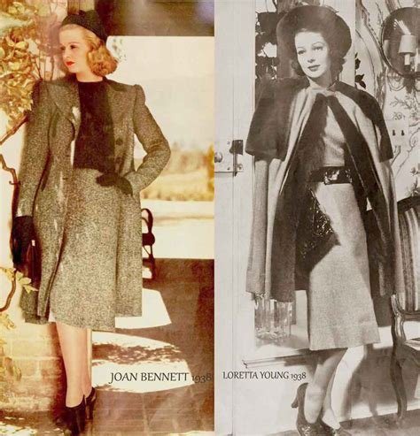 1930s fashion women s dress and hairstyles glamourdaze 1930s fashion more fall styles 1938 glamourdaze