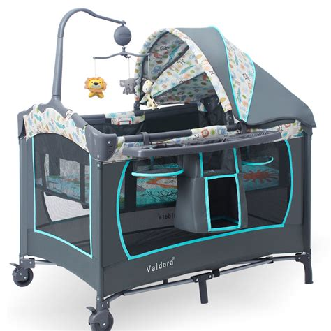 gaming bed valdera game bed multifunction portable folding baby crib