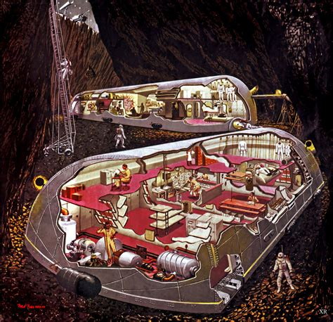 secret steccion 27 cutaway drawings that show all the secrets of buildings