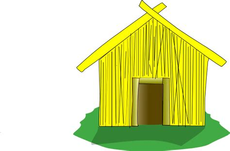 straw house straw house clip art at clker com vector clip art online royalty free public domain