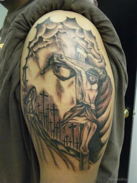 tattooed jesus jesus tattoos designs pictures page 2