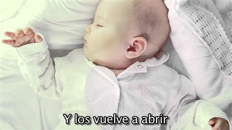 youtube cancion de cuna quot arrorro quot cancion de cuna para bebes con letra relajar