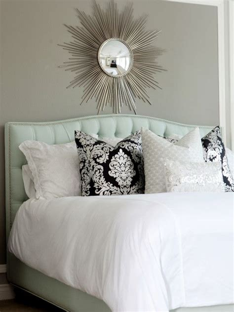 spaces seafoam green and grey master bedrooms design pictures remodel decor and ideas page