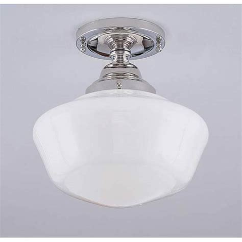 schoolhouse ceiling light semi flush norwell semi flush