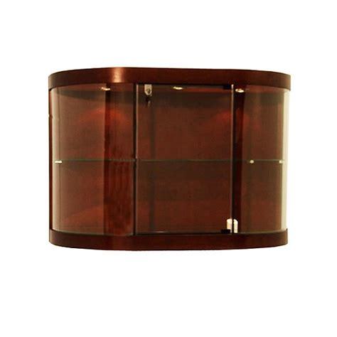 wall mounted curio cabinet wall mounted curio cabinet with curved glass subastral
