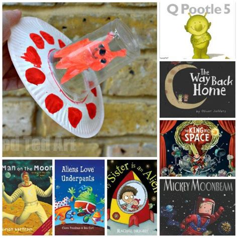 Paper Plate Craft Book - paper plate flying saucer craft 15 books about space