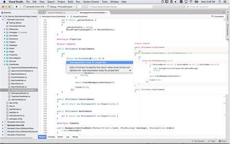 tutorial visual studio code mac visual studio for mac visual studio